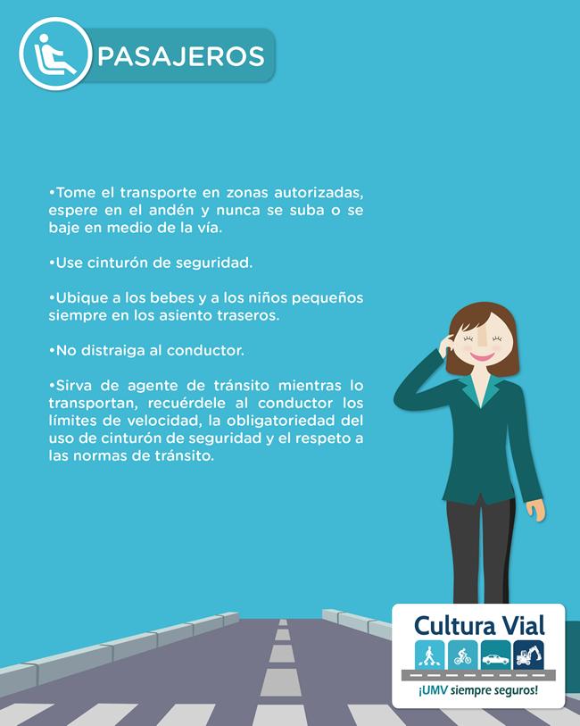 3. Tips Seguridad Vial - PASAJEROS