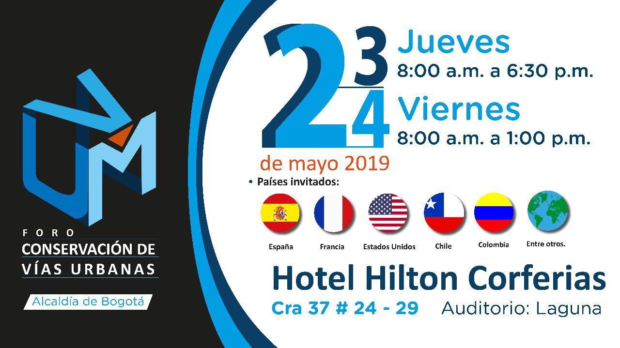 Umv Calendario.Bogota Sera Sede Del Primer Foro Internacional Sobre Vias